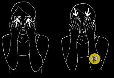 lift droopy eyes with exercises