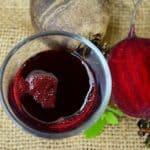 Drink beet juice for energy boost