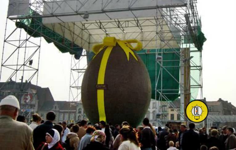 The world's biggest easter egg