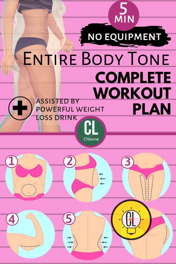 no equipment workouts for weight loss