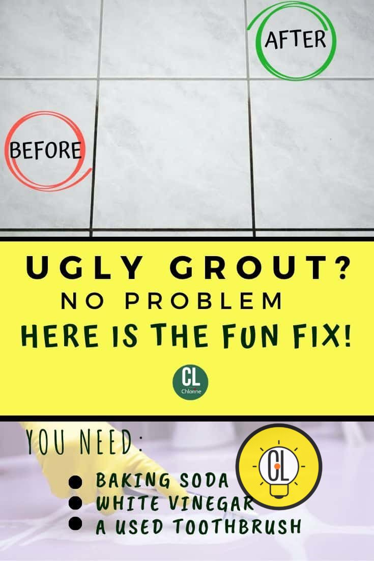 clean grout instantly