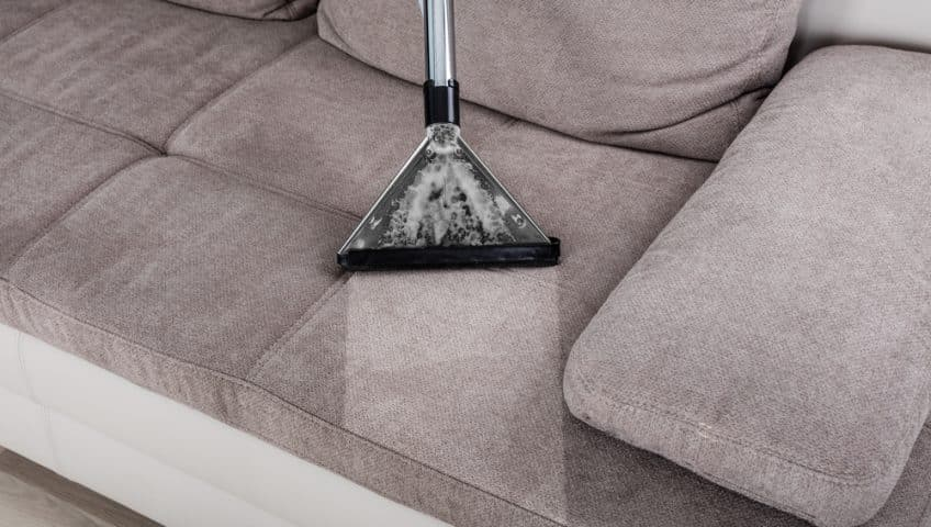 clean and disinfect your sofas