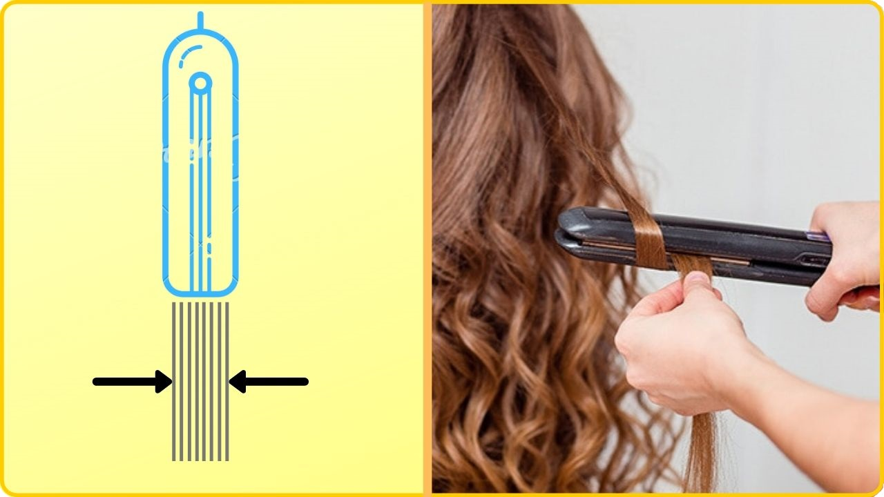 hair curling tips and tricks with flat iron