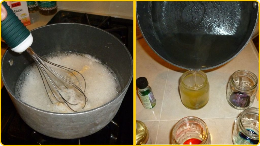 home made air freshener gel instructions