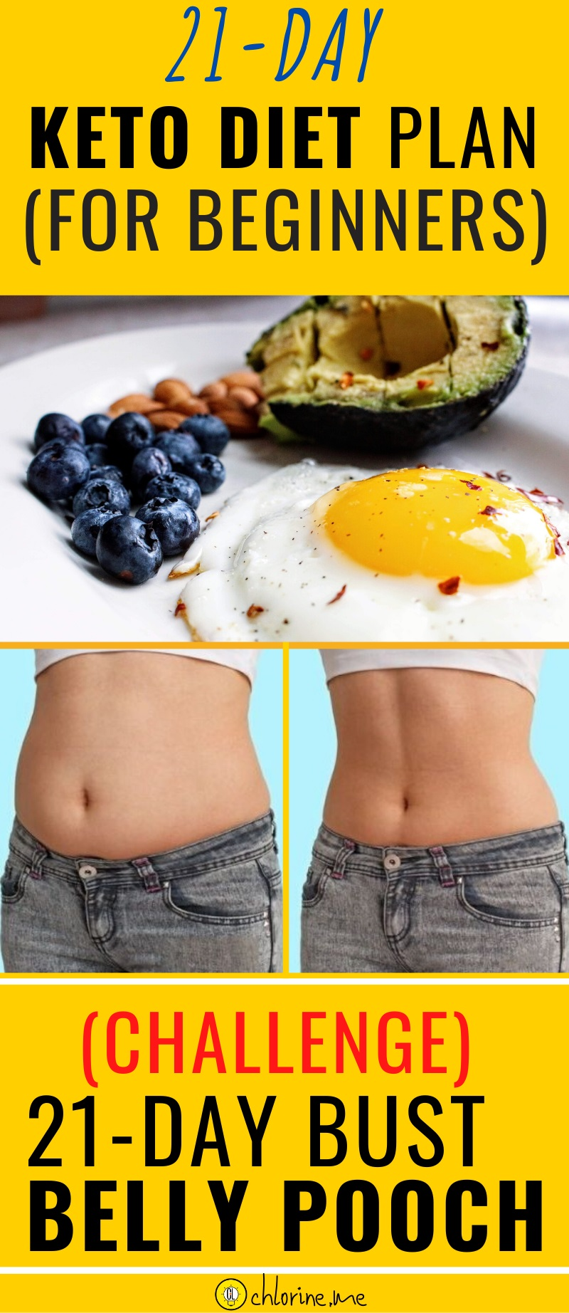 keto diet plan for belly pooch