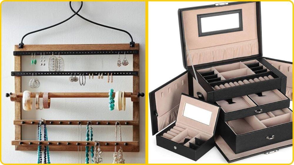 organize jewelry hacks