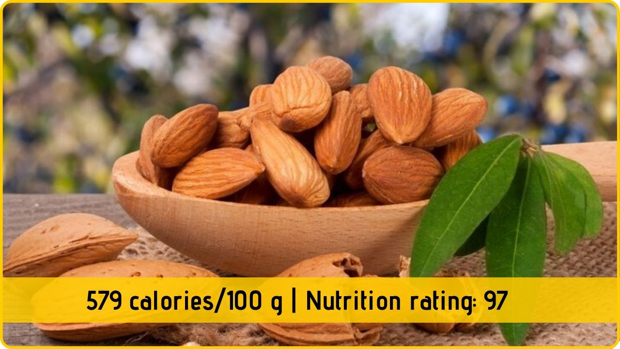 almonds nutrition and health benefits
