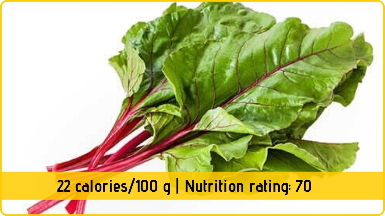 beet leaf nutrition and health benefits