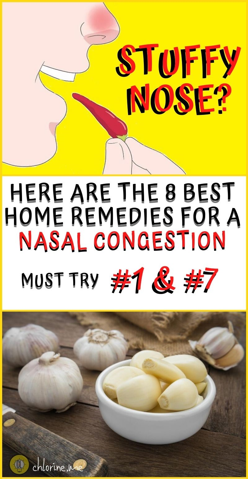 best home remedies for common cold stuffy nose