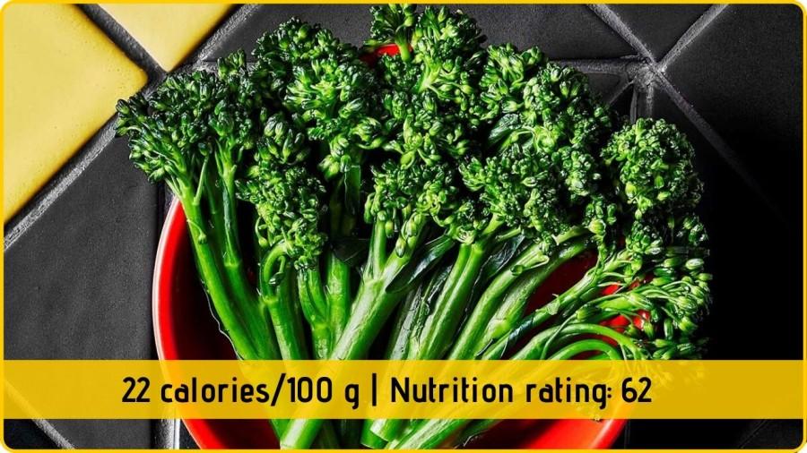 brocolli nutrional facts health benefits