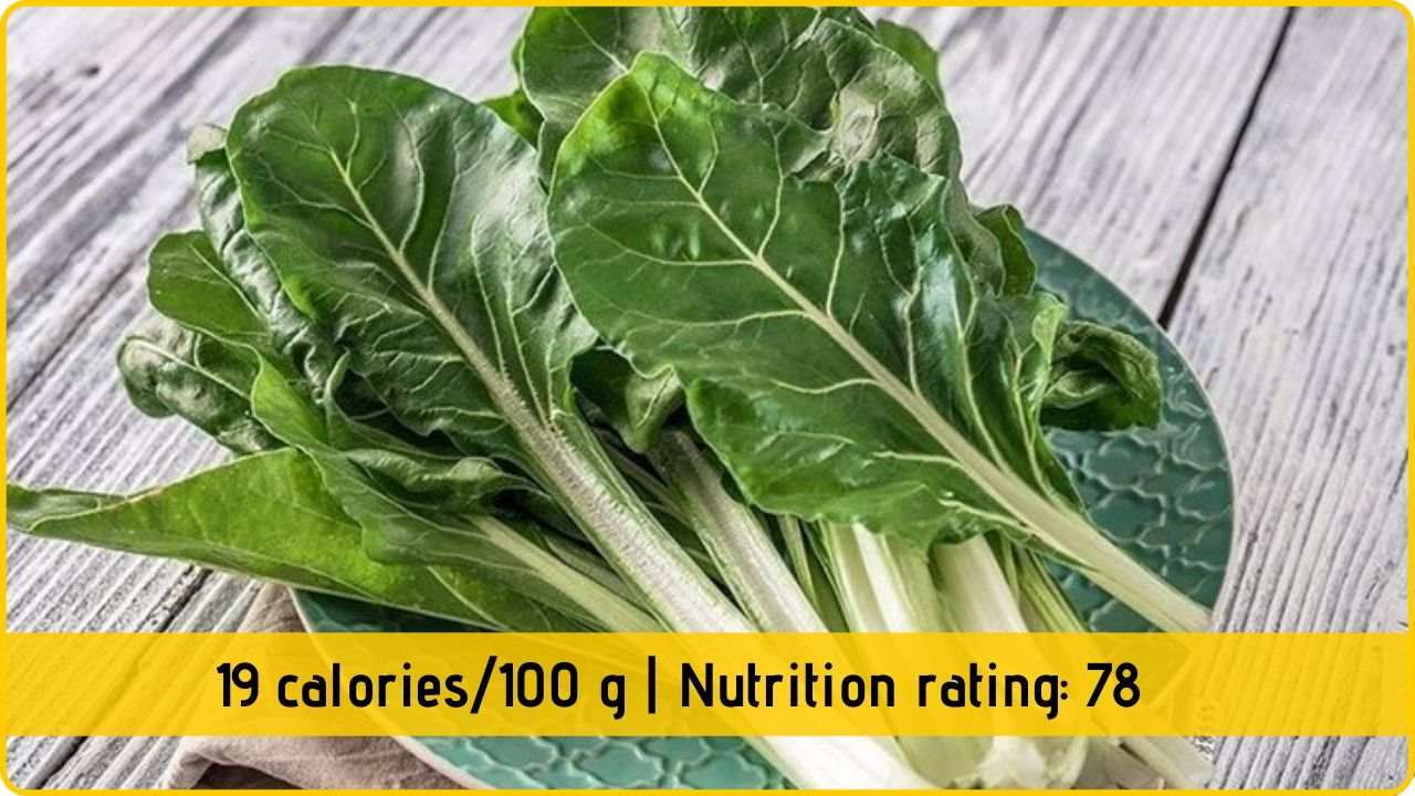 chard nutrition and health benefits