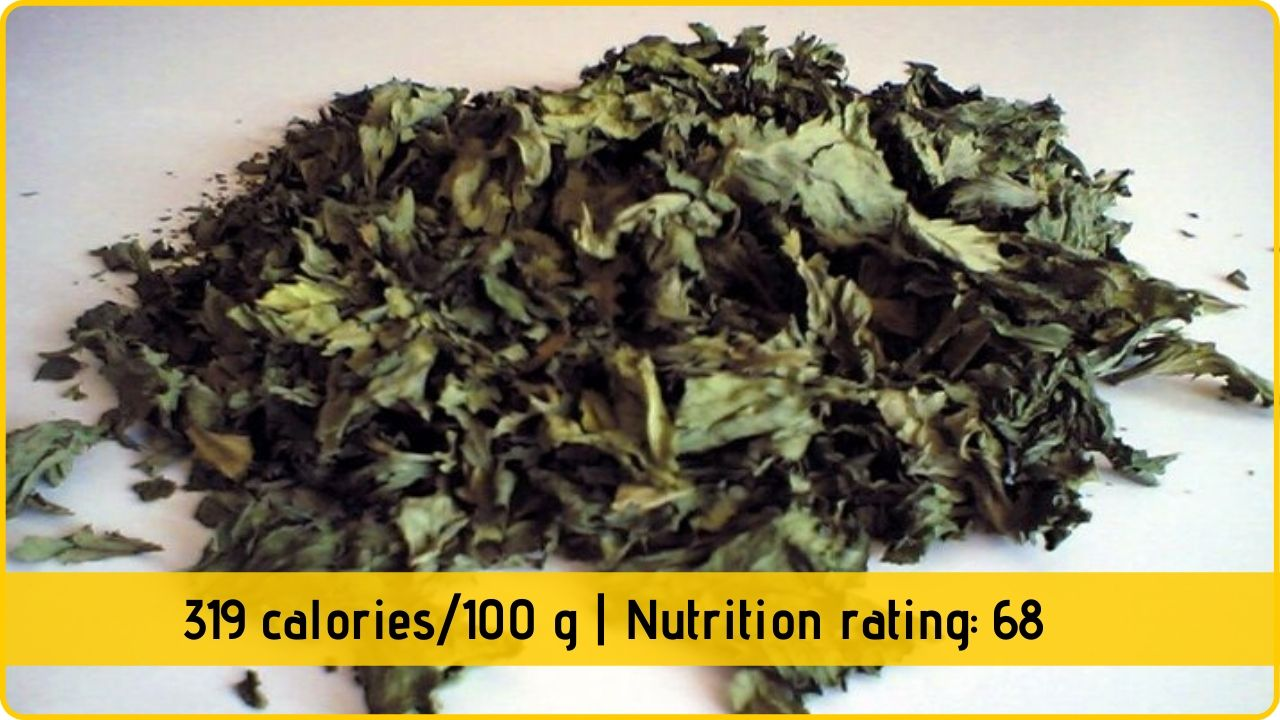dried celery nutrition and health benefits
