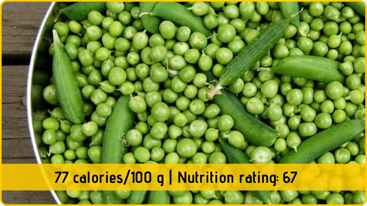green peas nutrition and health benefits