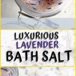 lavender bath salt diy