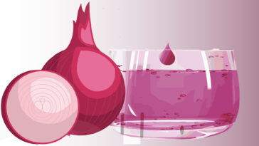 onion juice for hair growth strong hair