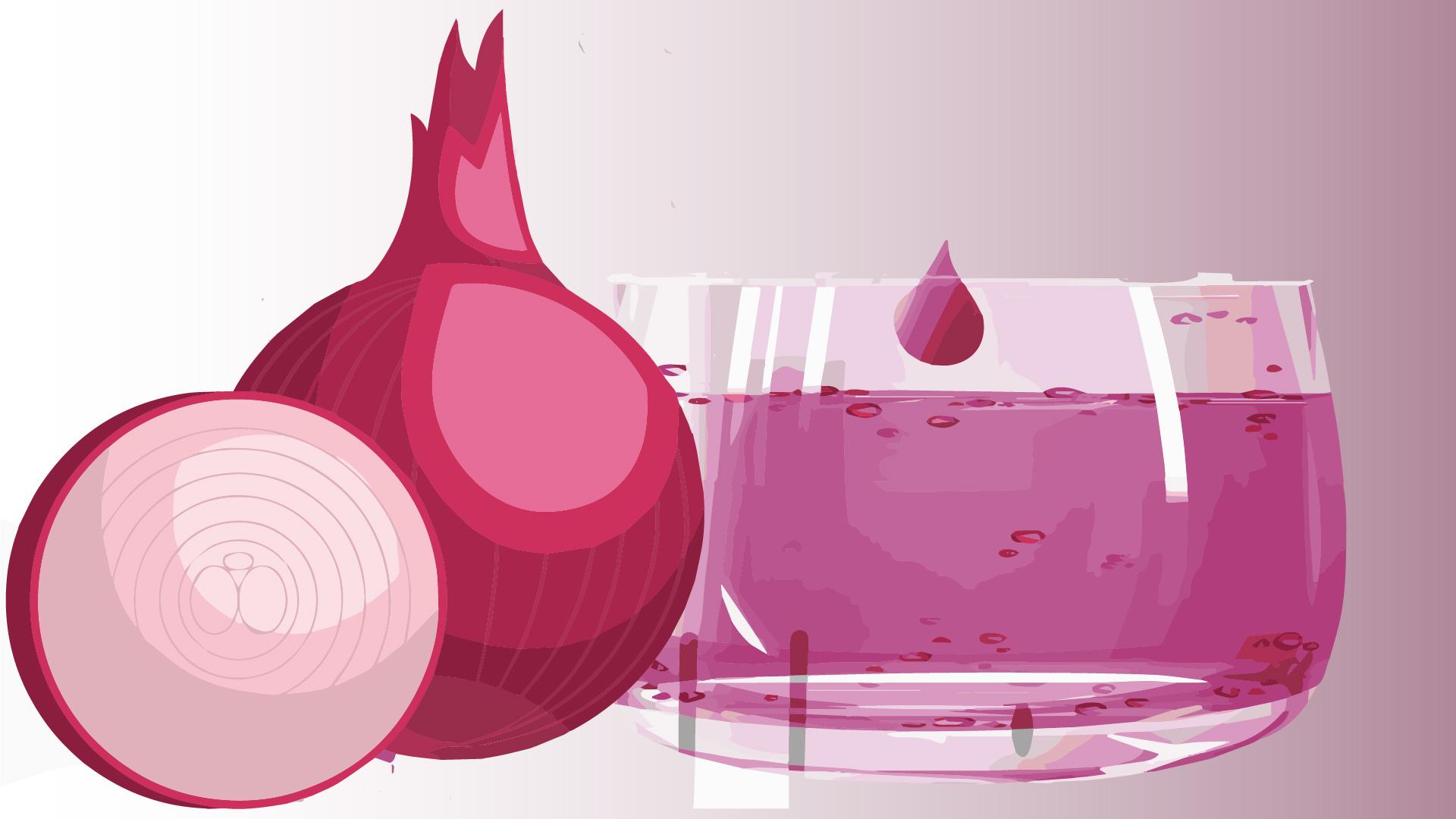 onion juice for hair growth strong hair