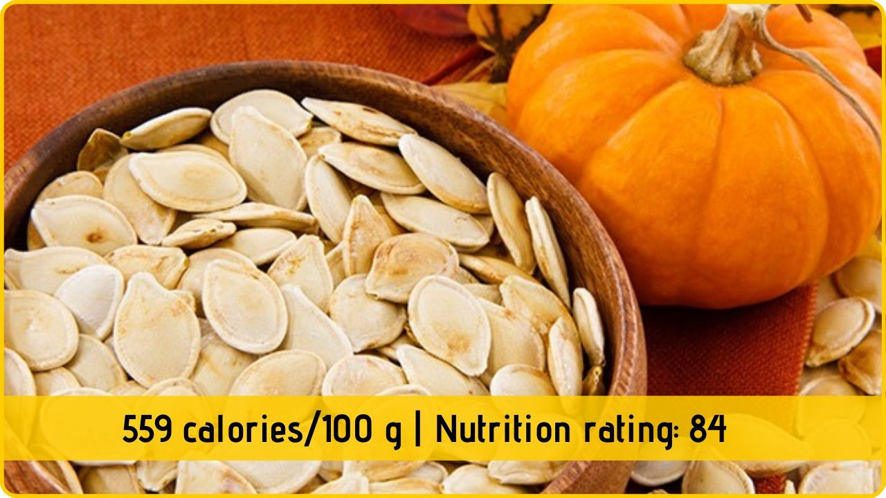 pumpkin seed nutrition health benefits