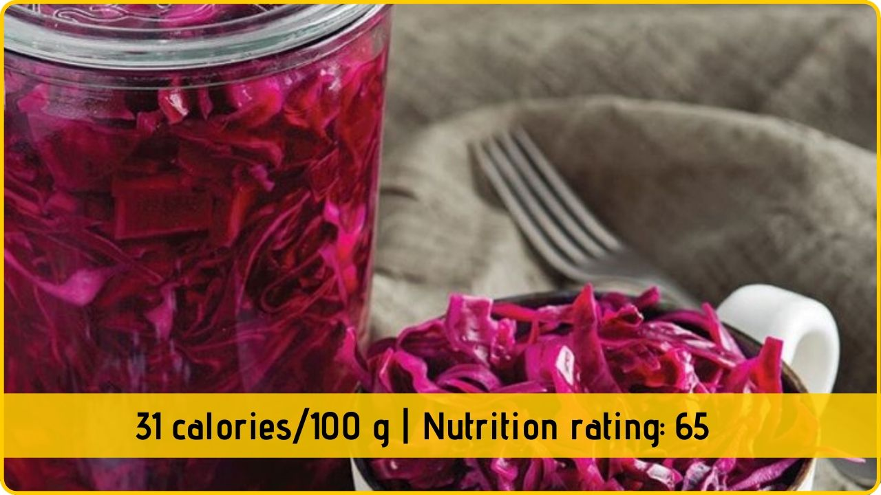 red cabbage nutrition health benefits