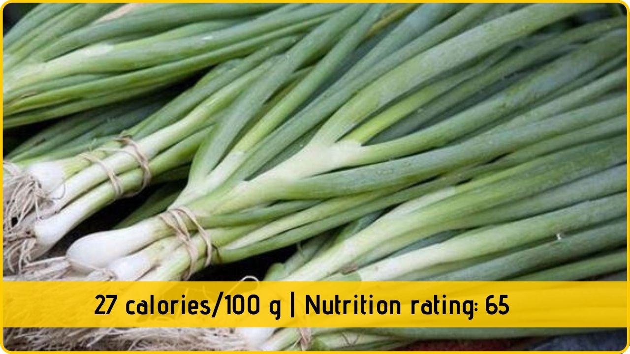 spring onion nutrition health benefits