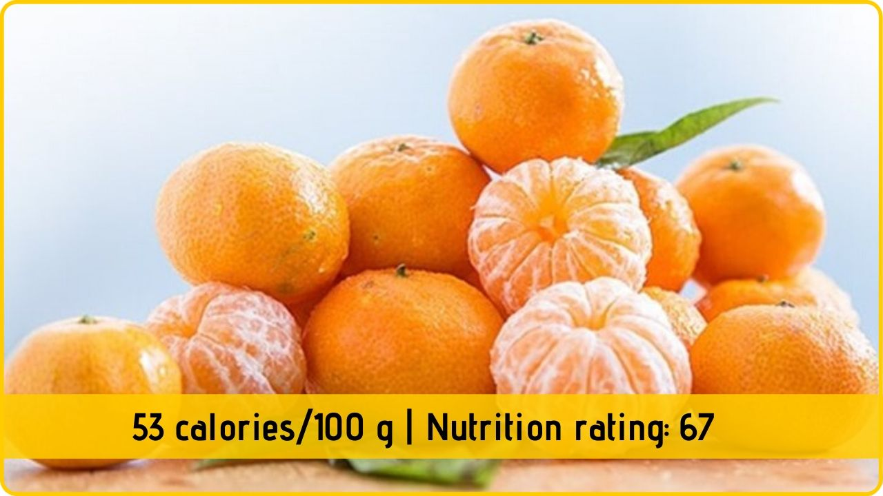 tangerines nutritioin and health benefits