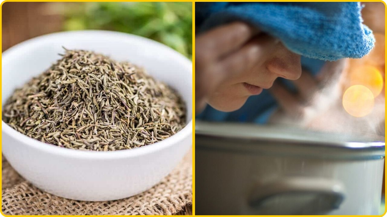 thyme as a home remedy stuffed nose