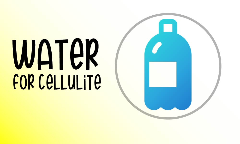 water to treat cellulite