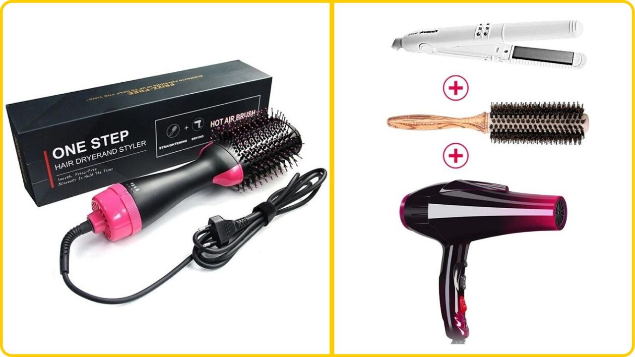 3in1 hair dryer and curler
