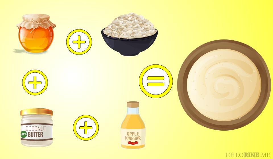 rice flour honey for cracked heels-01