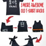 4 ways to repurpose your old t-shrits-01