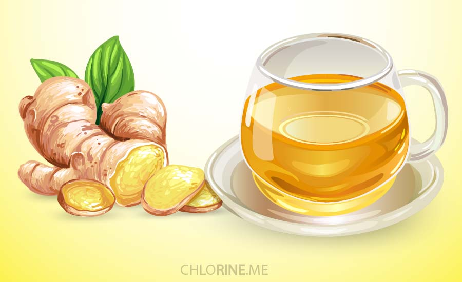 ginger tea to relieve menstrual pain