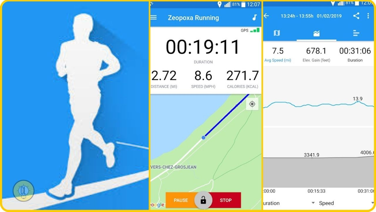 android apps for runners Running and Jogging by Zeopoxa