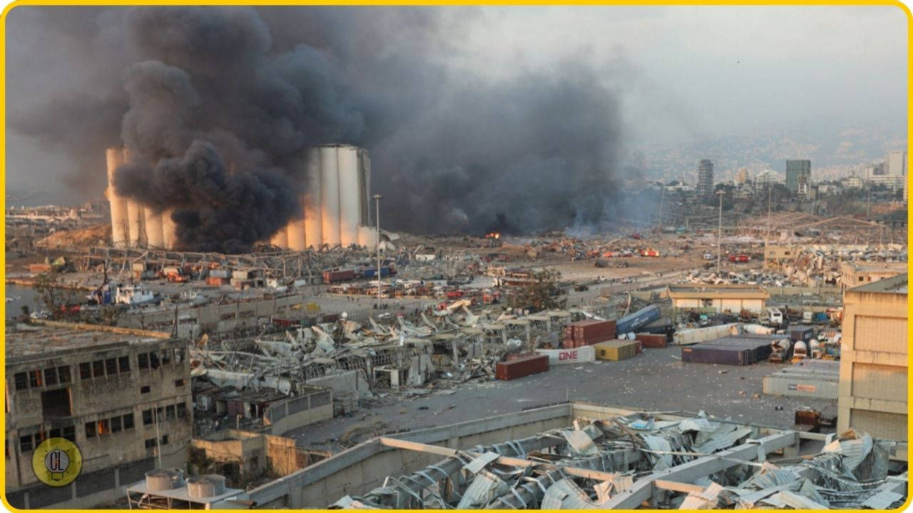 beirut explosion disaster