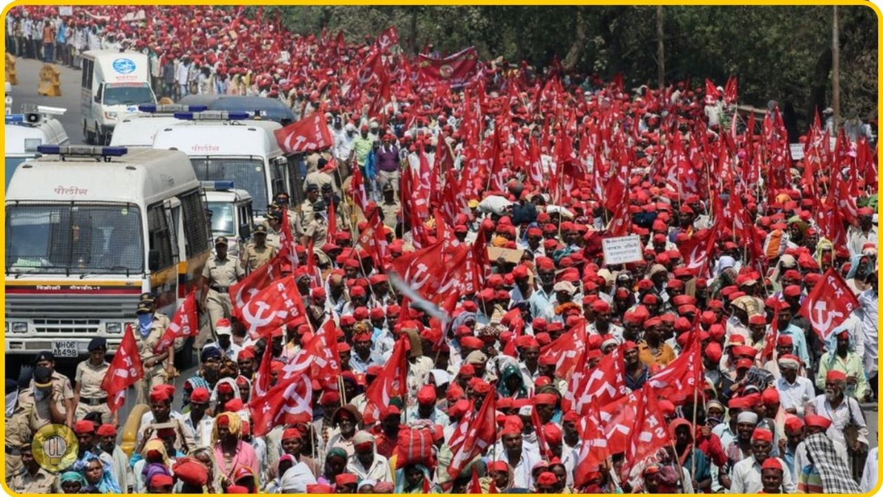 indian farmers protest