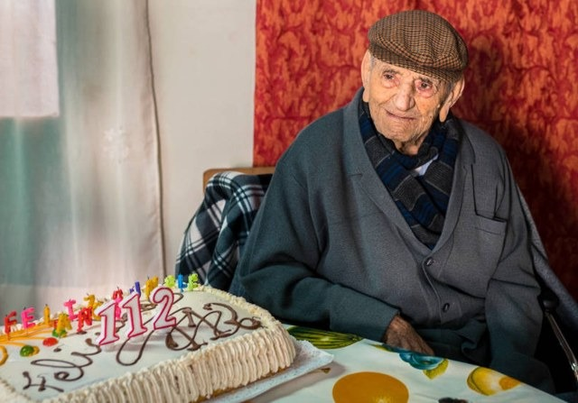 oldest man shares his secrets of good health and longevity