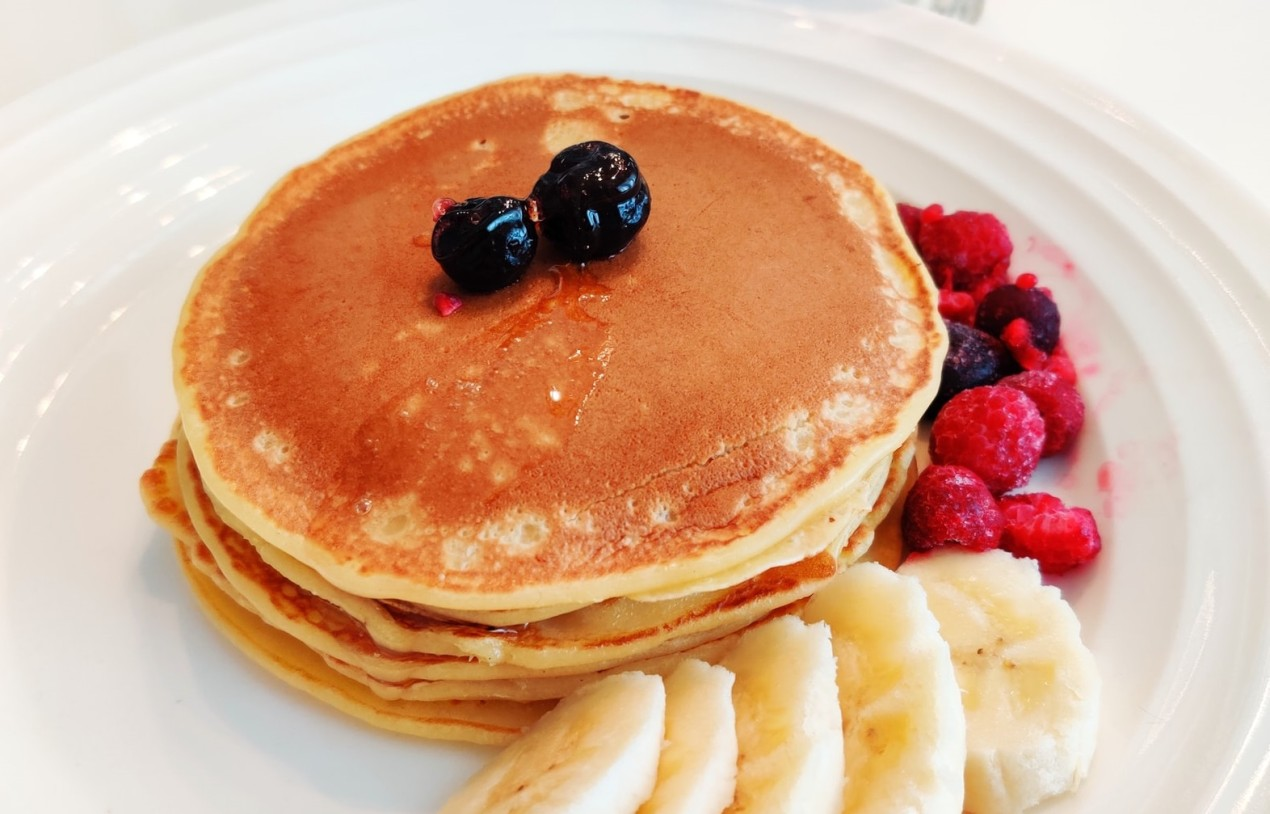 Spongy-and-Delicious-Maple-Syrup-Pancakes