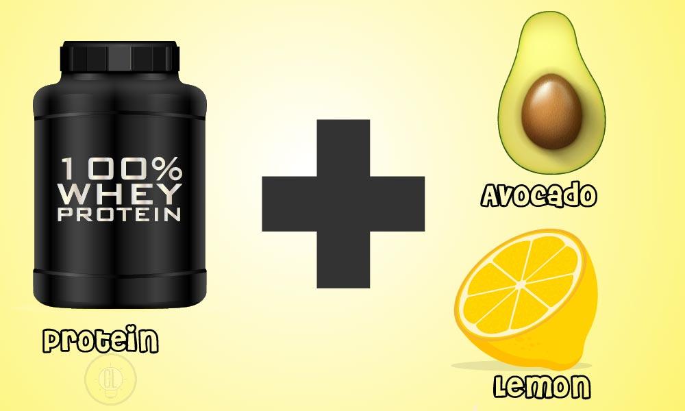 avocado protein face mask recipe-01
