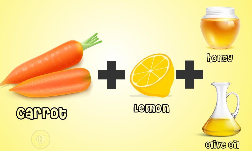 carrot lemon face mask-01