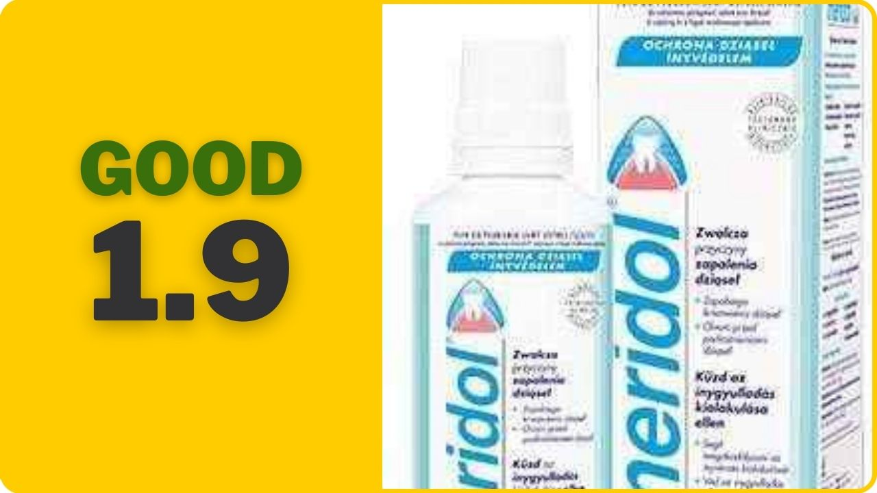 famous mouthwash meridol rated