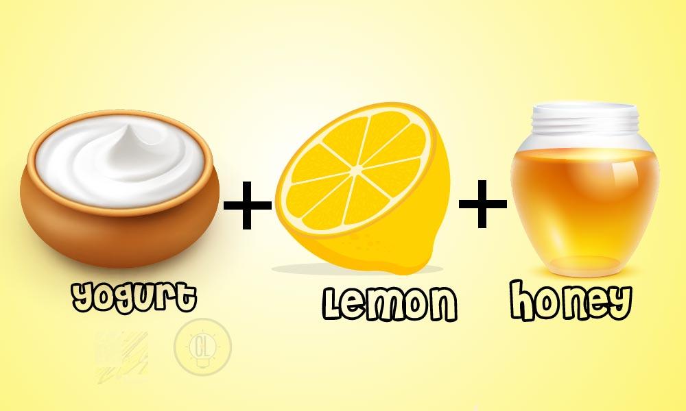 yogurt honey DIY face masks