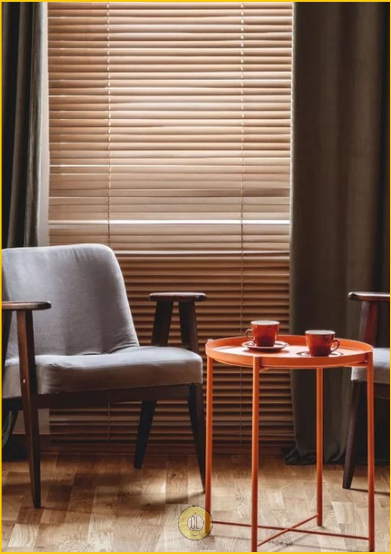 wooden window blinds home decor