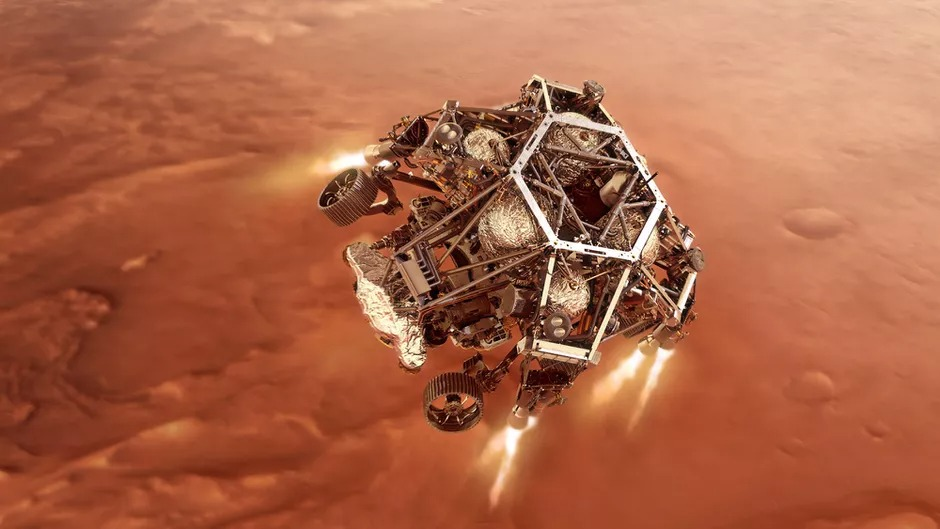 NASA's Perseverance Ready For The '7 Minutes Of Terror' on Mars