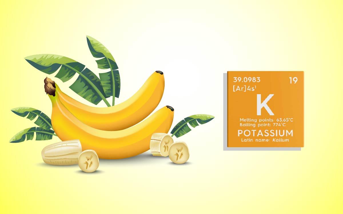 Bananas, a Powerful Source of Potassium