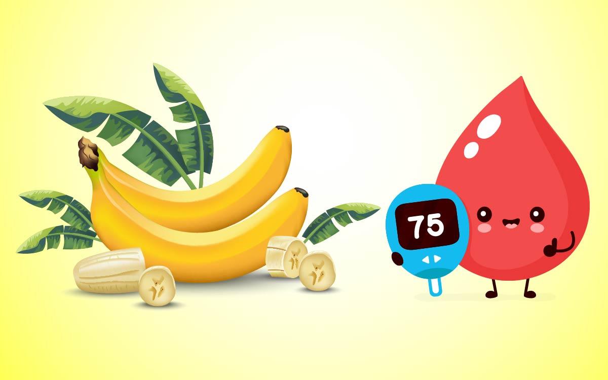 bananas and blood sugar level-01