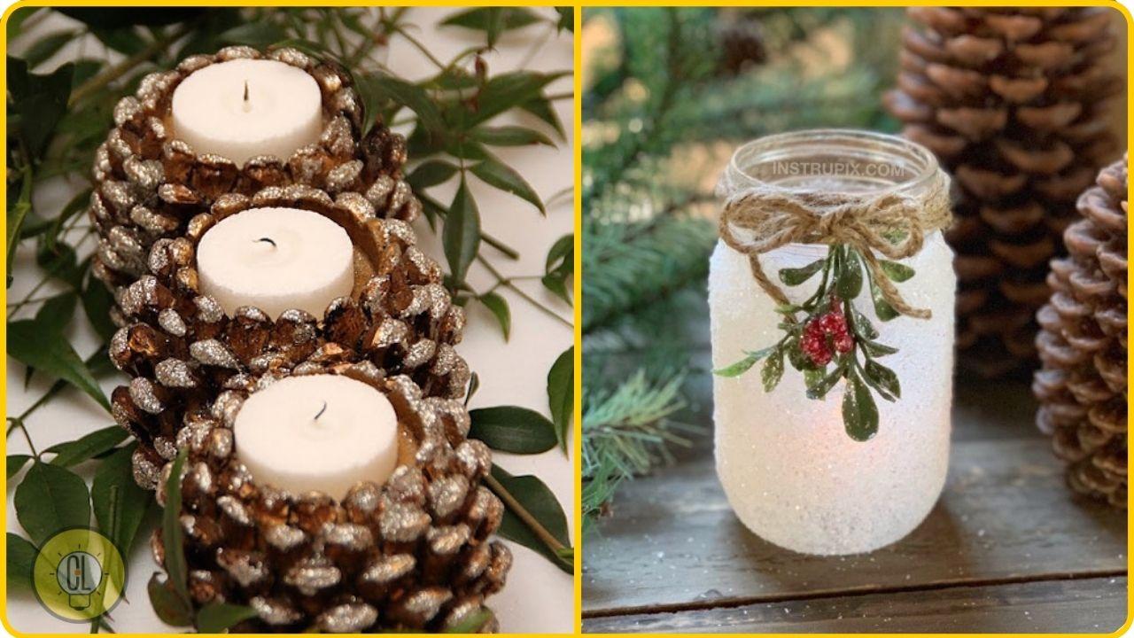 diy lanterns and candleholders