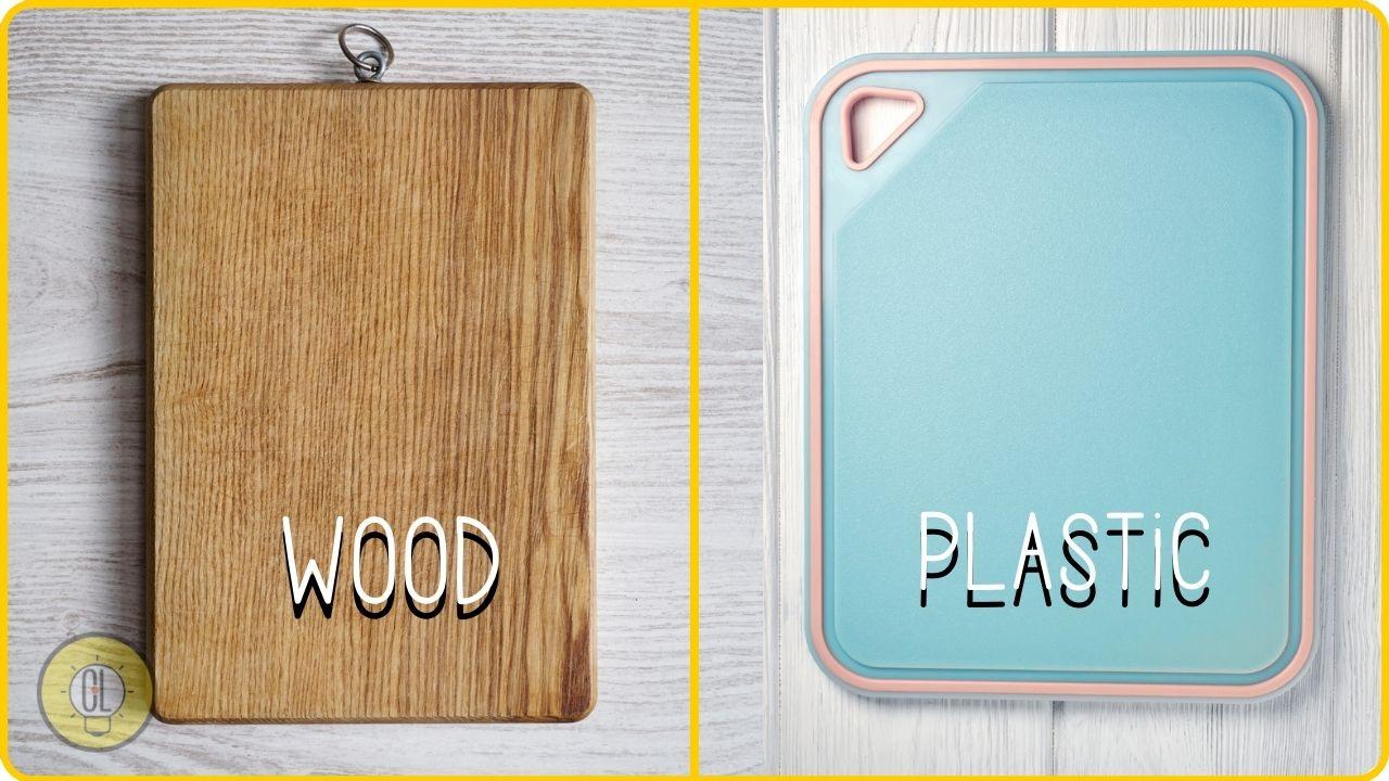 wood cutting boards vs plastic vs glass